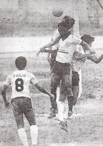 Otra imagen de la campaña de Boys en Intermedia, esta vez frente a Juventud La Palma de Huacho (Foto: diario El Nacional)