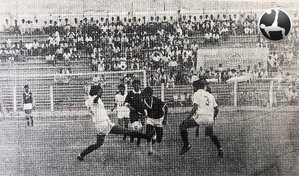 En el Elías Aguirre, Aurich pasó por delante a Grau, pero la diferencia de goles no contaba para resolver la llave. (Foto: diario La Industria de Chiclayo)