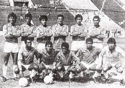 Inter en el Metropolitano 1988. El equipo acabó último de su grupo y luego de quedar en la misma posición en el Descentralizado B, debió definir la categoría con Republicana (Recorte: diario La Tercera)