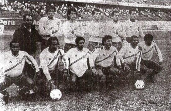 Inter con uniforme alterno en 1990 (Recorte: diario La Tercera)