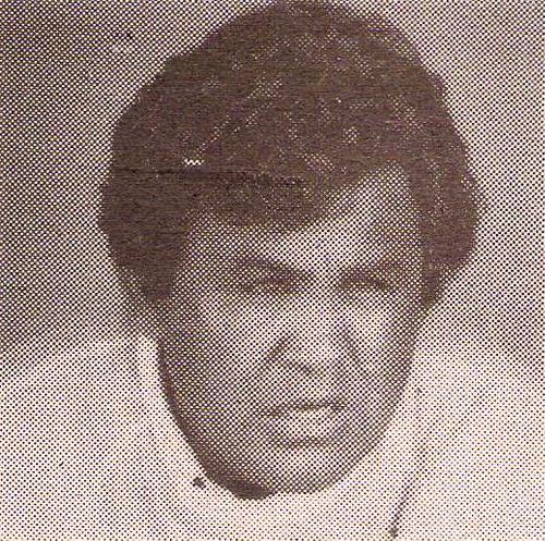 Carrasco en 1989 cuando dirigió al Aurora de Arequipa con singular suceso en los Regionales (Recorte: revista Todo Fútbol)