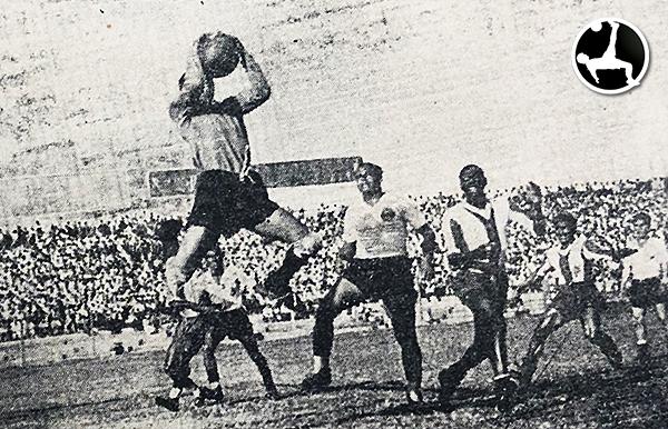 Alianza - Boys de 1947 (Recorte: diario La Crónica)