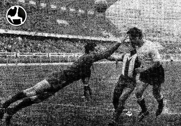 Alianza - Boys en 1960 (Recorte: diario La Crónica)