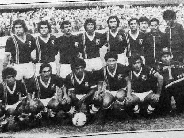 Atlético Torino era el llamado a ser el equipo 17 del torneo, tras su ascenso de la Copa Perú de 1982(Recorte: diario La Crónica)