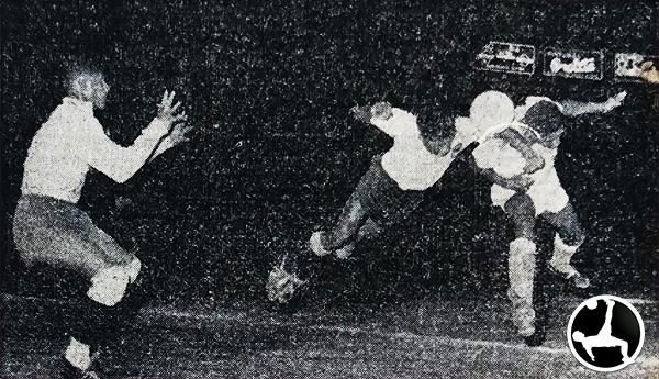 Con el 4-1 ante Sucre, Boys ya estaba en la liguilla. (Recorte: diario La Crónica)