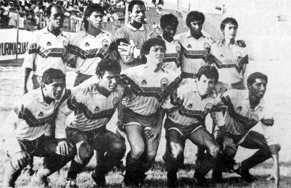 El equipo campeón del Yurimaguas con la presencia del entonces novel 'Avestruz' Germán Carty (Recorte: diario Ojo)