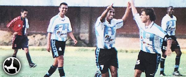 Villa del Mar le ganó 8-0 a Bella Esperanza. Era una clara muestra del nivel que mostraba el cuadro de Cerro Azul. (Recorte: diario Todo Sport)