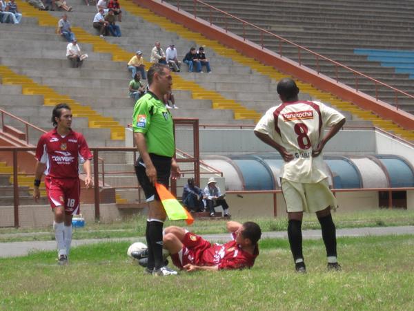 San Marcos siguió de malas y no hizo respetar la casa, pero a UTC tampoco le sirvió el empate (Foto: Prensa Segunda División)