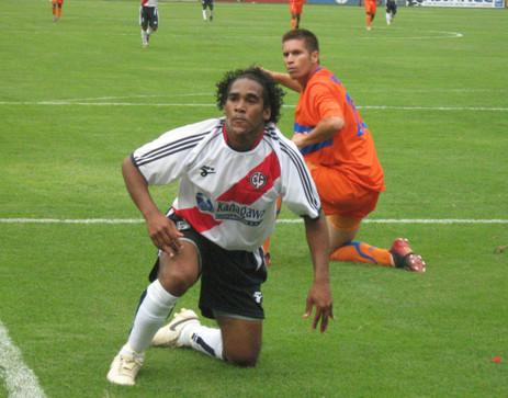 En Omar Ramírez se cifraban varias de las esperanzas de gol huancaínas, pero estuvo en una tarde poco afortunada (Foto: Gian Saldarriaga / DeChalaca.com)