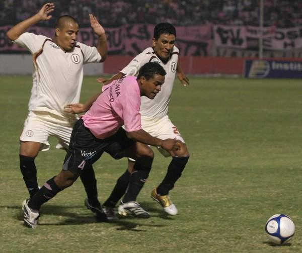 FECHA 1. En el Callao, Cochahuayco aguantó bien pero no pudo evitar la derrota por la inferioridad numérica que tuvo desde temprano (Foto: Todo Sport)