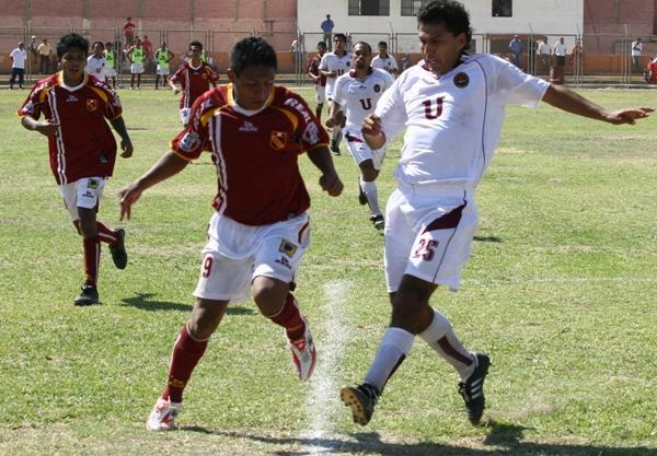 FECHA 1. En su estreno en el torneo de ascenso, el 'Taladro' no pasó del empate ante IDUNSA en el Campeonísimo (Foto: Juan Ramírez)