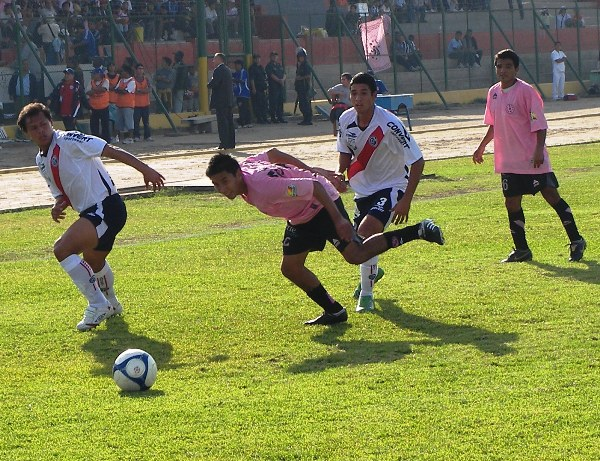En la Segunda División de 2009 Municipal se fue a Ica para hacer de local contra Boys pero perdió por 0-2 (Foto: Abelardo Delgado / DeChalaca.com)