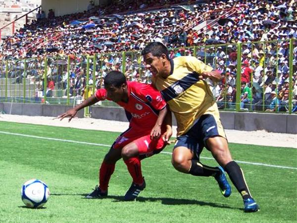 FECHA 15. Coopsol resistió en Moquegua, pero se le fue el empate a 13' del final en un partido de seis puntos (Foto: Freddy Mamani)