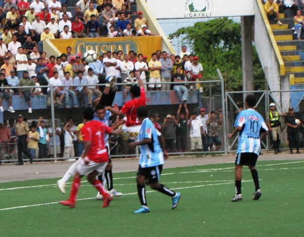 FECHA 01. Tecnológico hizo su debut en la Segunda División con una derrota de 2-3 ante Hijos de Acosvinchos. (Foto: diario AHORA de Pucallpa)