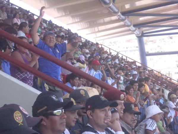 LO GRITA MOQUEGUA. El 25 de Noviembre anduvo repleto y emocionado con la merecida victoria del Cobresol (Foto: Richard Angulo)