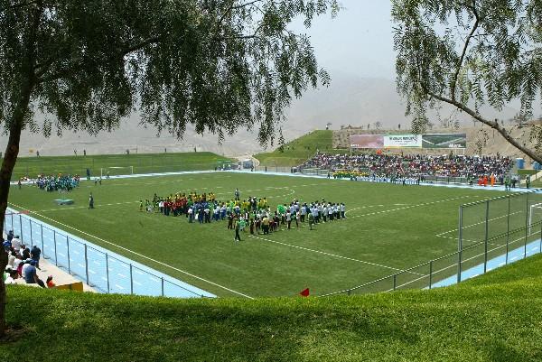 Estadio Municipal de La Molina, escenario donde la 'Naranja Mecánica' de la Carretera Central podría fungir como local en algunos compromisos del torneo de ascenso (Foto: ANDINA)