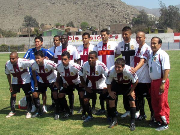 San Marcos, equipo que tiene todas las credenciales para no ser admitido en la Segunda División 2012 (Foto: José Salcedo / DeChalaca.com)