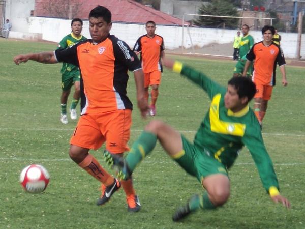 LOS AMENAZARON. Los delanteros de Minero, entre ellos Junior Leonardo, hicieron poco o nada para inquietar a la retaguardia ancashina. (Foto: Aldo Ramírez / DeChalaca.com)