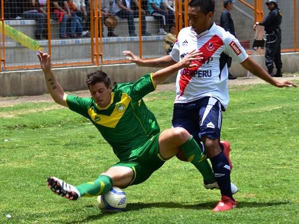 En 2011 José Gálvez prácticamente aseguró su ascenso luego de vencer a Sport Áncash en Huaraz, siendo aquel partido el último de los huaracinos en la temporada (Foto: Miguel Guimaray)