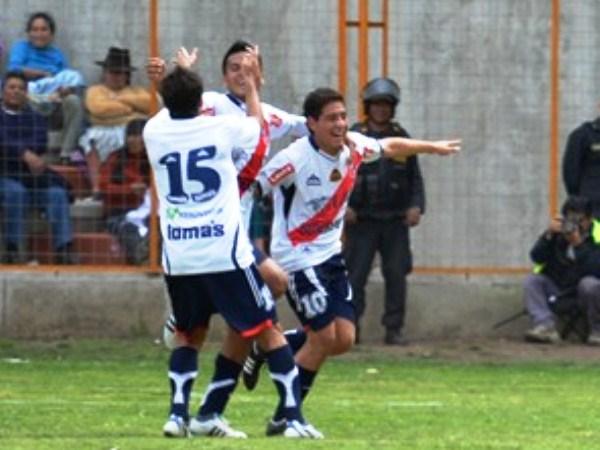 FECHA 23. Janio Posito pondría el segundo a los 75' y candado a los tres puntos que se llevó Gálvez de Huaraz. (Foto: Miguel Guimaray)