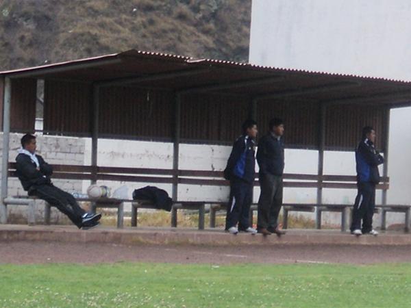 FALTA GENTE. Así lució el bando de suplentes de Alianza Unicachi. (Foto: Aldo Ramírez / DeChalaca.com)
