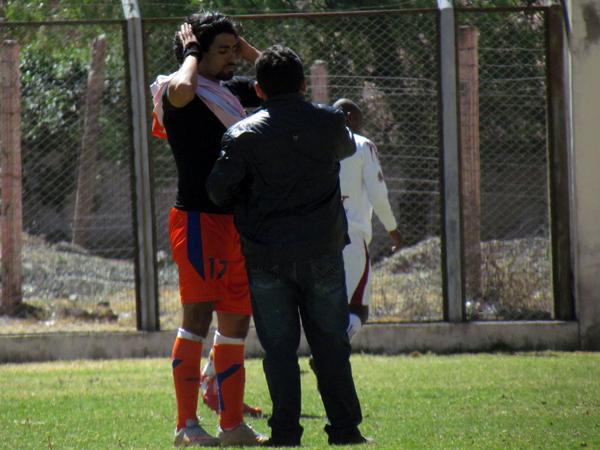 LA FRASE. Juan Quiñónez es un gran jugador en la cancha y fuera de ella, a la radio local afirmó que ser goleador