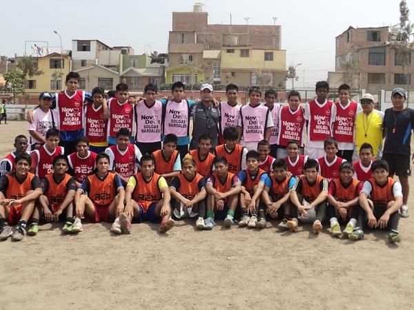 CON PACIENCIA. Finalmente, los de la categoría 95 se preparan integramente para disputar torneos como la Copa Federación de este año. (Foto: Aldo Ramírez / DeChalaca.com)