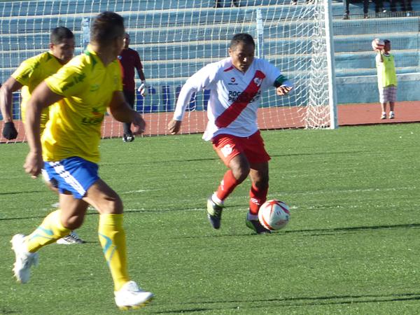 La habilidad y el gol de Pedro García parece que serán protagonistas esta temporada en el equipo puneño luego del buen arranque que tuvo ante el San Alejandro (Foto: Puno Deportes)