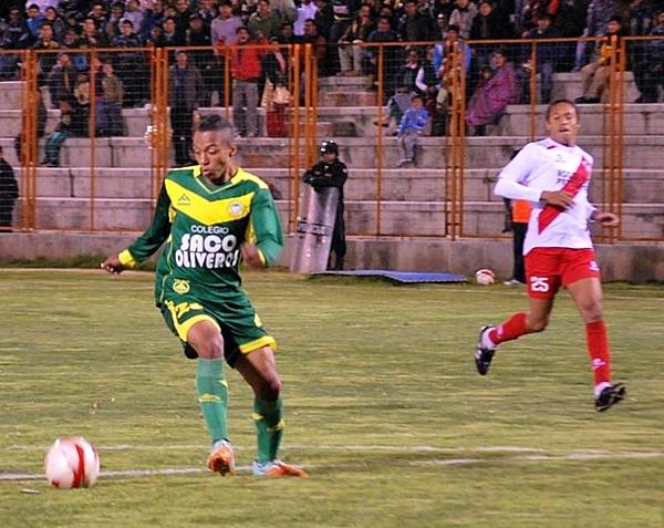 Un inspirado Joao Villamarín fue clave para que Áncash se llevara los 3 puntos y una goleada que lo pone en la pelea, tras un comienzo tibio. (Foto: Miguel Guimaray)