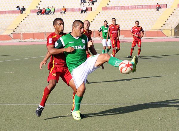 La presencia de Mario Gómez en el once de Teddy Cardama fue clave al momento de sostener resultados (Foto: diario La Industria de Chiclayo)