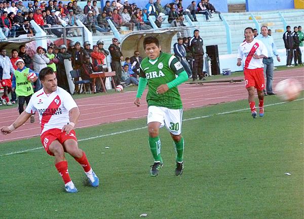 Con una promoción entre equipos de Primera y Segunda División, Alfonso Ugarte hubiera tenido una chance más de ascender a la máxima categoría (Foto: Puno Deportes)