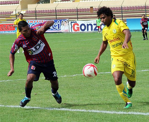 Contra San Alejandro el equipo huanuqueño no logró sostener la ventaja hasta el final y acabó cediendo un nuevo empate (Foto: Mihay Rojas / DeChalaca.com)