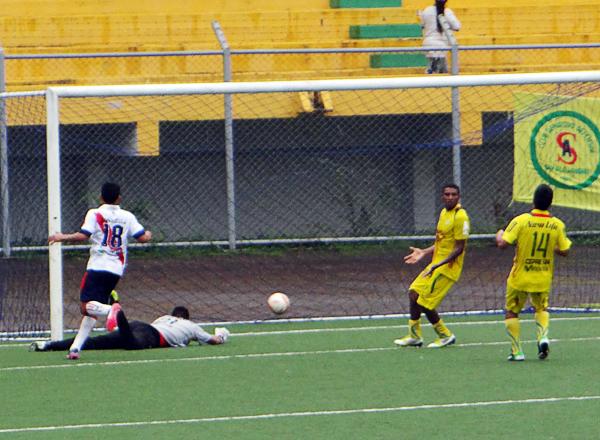 En los últimos minutos Municipal se acercó en el marcador con un gol de Christian Cuadros que aprovechó un descuido en la defensa pucallpina (Foto: Diario Ahora de Pucallpa)