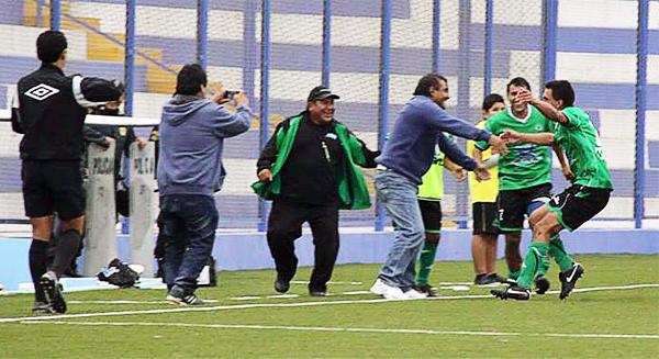 Así como al inicio del partido, el 'Globito' también golpeó al final del mismo con la aparición goleadora de Brian Zamora para darle el triunfo al equipo arequipeño (Foto: Miguel Koo Vargas / DeChalaca.com)