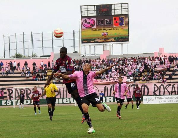 Pese a estar adelante por dos goles y con un hombre más en cancha, Boys se dejó voltear el partido ante Alianza Universidad. (Foto: Miguel Koo Vargas / DeChalaca.com)