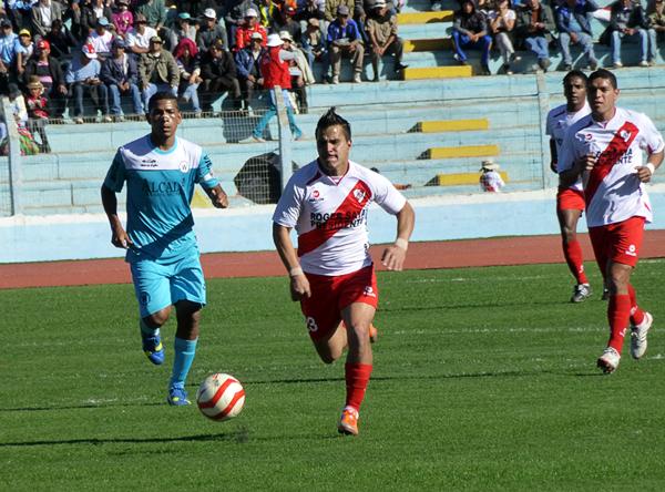 La posible marcha de la figura del equipo encendió la alarma en Puno, ya que de irse Juan Pablo Vergara las aspiraciones del Ugarte hubieran sufrido un duro revés (Foto: Puno Deportes)