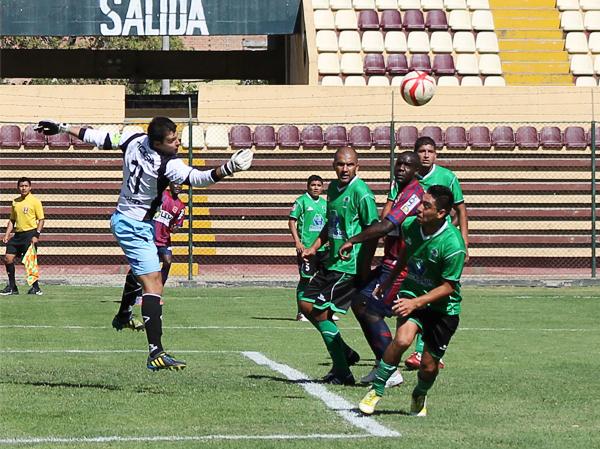 En Huánuco ante Alianza Universidad fue la última vez en la que Sportivo Huracán tuvo a Jesús Oropesa como técnico en la Segunda División (Foto: Mihay Rojas / DeChalaca.com)