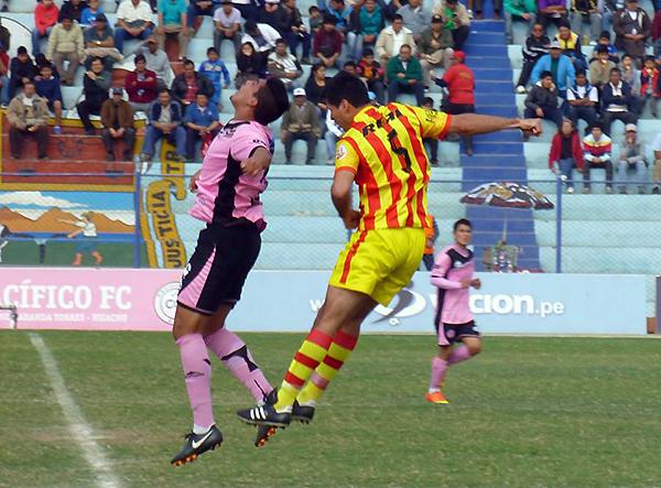 Pacífico y Boys salieron decididos a sumar de a tres. El empate fue el resultado más justo (Foto: diario La Plana de Huacho)