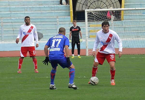 Dominio compartido en la primera parte. Sin embargo en el complemento, Alfonso Ugarte estuvo más cerca de la victoria (Foto: Puno Deportes)