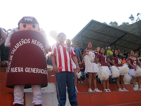La mascota de Torino cuando el 'Taladro' disputaba la Segunda División en 2009 (Foto: talaratorino.com)