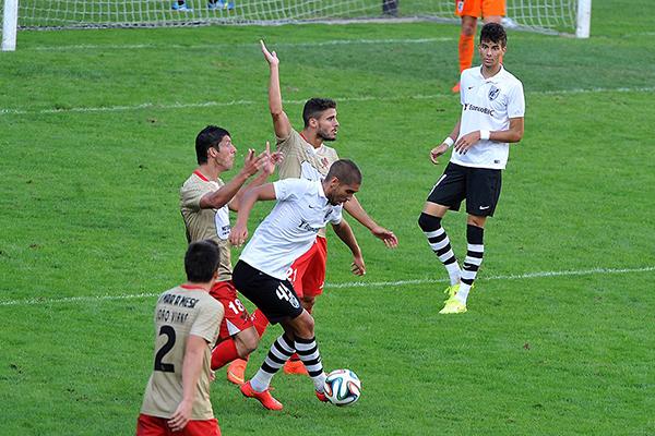 En un encuentro intenso, Leixoes y Vitoria Guimaraes B empataron 3-3 (Foto: prensa Vitoria Guimaraes)