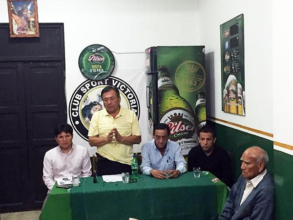 La directiva de Sport Victoria prepara el centenario. (Foto: prensa Sport Victoria)
