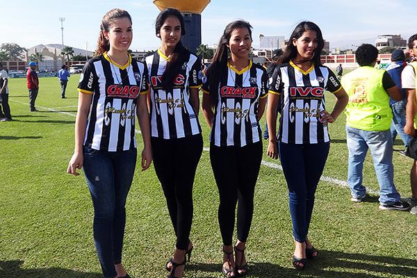 Sport Victoria mantuvo el estilo en el uniforme. (Foto: Alan Roca / Bravazos Ica)