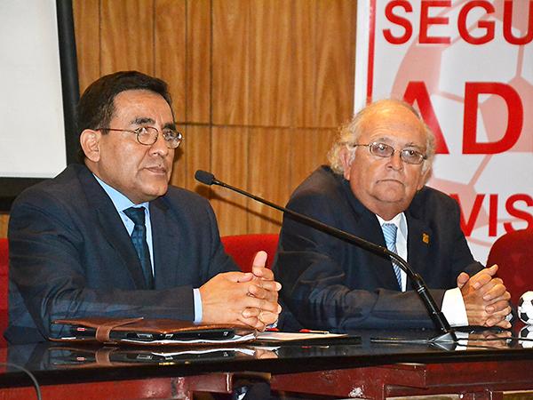 Tomás Acha busca asumir la presidencia de la ADFP-SD. (Foto: prensa ADFP-SD)