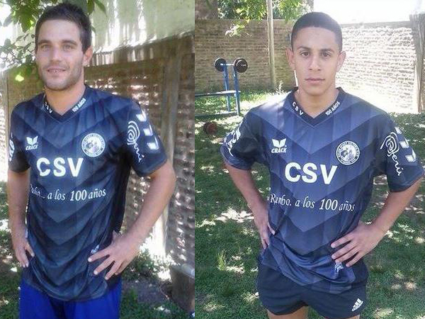 Lionel Abdala (Izquierda) es un centro delantero y Nicolás Guillén (Derecha) es un enganche. Ambos argentinos serían los nuevos jales de Sport Victoria  (Foto: Prensa Sport Victoria)