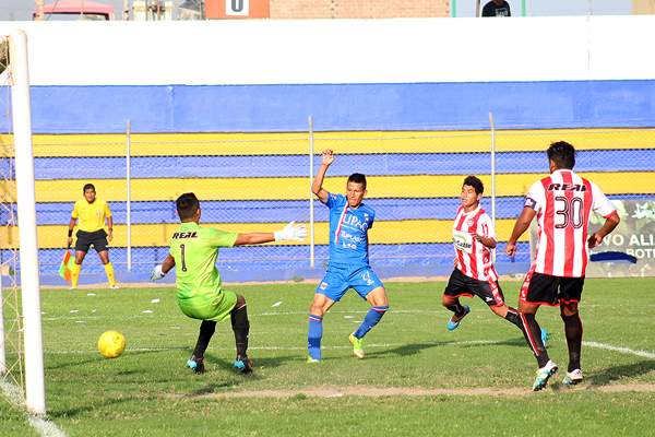 La goleada de Huaral debería motivar más hinchas en el Lores Colán en próximas fechas. (Foto: La Industria de Trujillo)