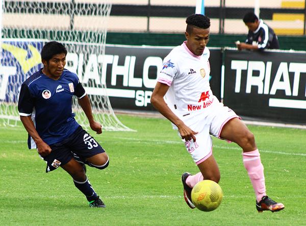 Cueto le dio el triunfo a Boys con un golazo. (Foto: Pedro Monteverde / DeChalaca.com)