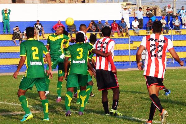 La esforzada defensa de Sport Áncash fue clave para el triunfo en Huaral. (Foto: Georgina Carlos)