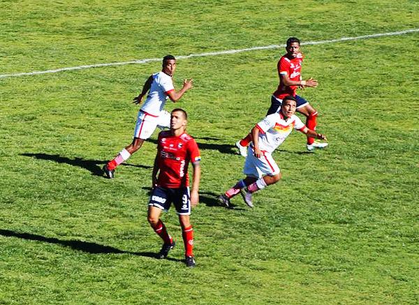 Enzo Castillo fue uno de los autores de los goles de Cienciano. (Foto: Gilberth Chiquillán)