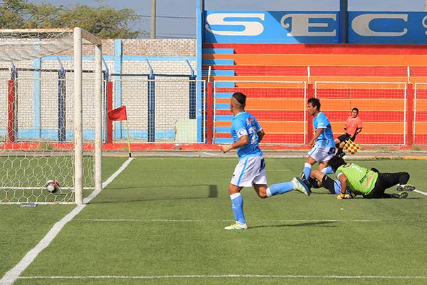 La Bocana no le perdonó la vida a Serrato Pacasmayo y le metió seis goles. (Foto: diario La Hora de Piura)